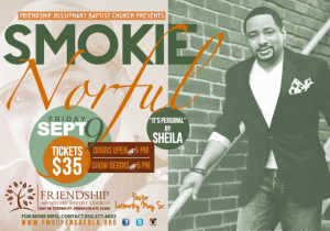 Smokie Norful - LIVE IN CONCERT @ Friendship Missionary Baptist Church | Pensacola | Florida | United States